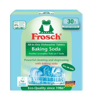 Սպասք լվանալու հաբեր Ֆռոշ, սոդա, սպասք լվացող մեքենաների համար, 30հատ x 20գ