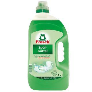 Սպասք լվանալու հեղուկ Ֆռոշ, կանաչ կիտրոն, 5լ