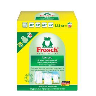 Խտացված լվացքի փոշի Ֆռոշ, կիտրոն, սպիտակեցնող, 1.35կգ