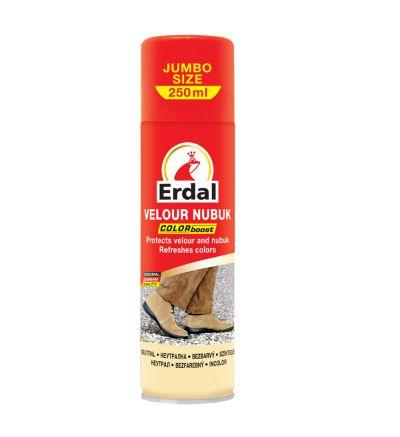 Սփրեյ Էրդալ, զամշի ու նուբուքի խնամքի համար, անգույն, 250մլ