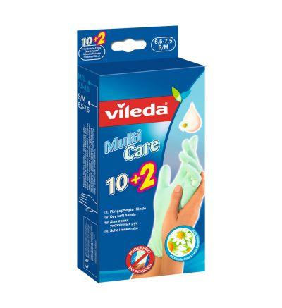 Ձեռնոցներ Վիլեդա մուլտի խնամք , փոքր/միջին, 10+2 հատ