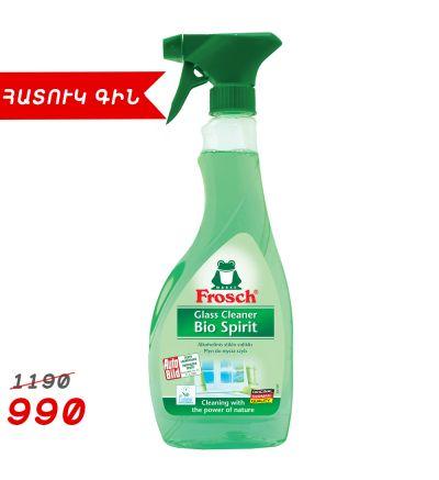Ապակի լվանալու հեղուկ Ֆռոշ, սպիրտ, 0.5լ