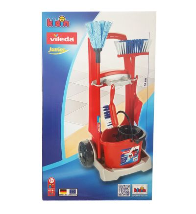 Խաղալիք մաքրության հավաքածու Վիլեդա, սայլակով , 59սմ, 1 հատ