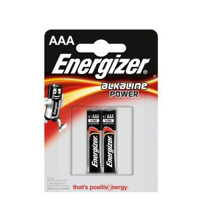 Մարտկոց Էներջայզեր, ալկալինային ուժ, AAA, 2 հատ