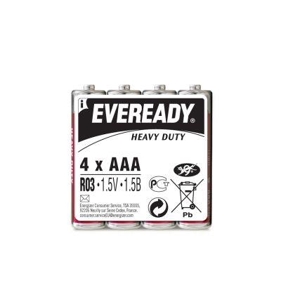 Մարտկոց Էվերեդի, ուժեղ հզորություն, AAA, 4 հատ