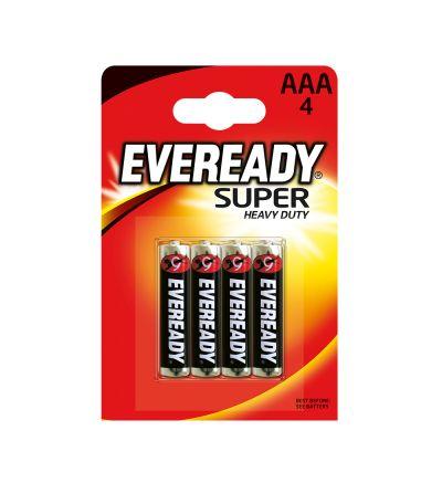 Մարտկոց Էվերեդի, սուպեր ուժեղ հզորություն, AAA, 4 հատ