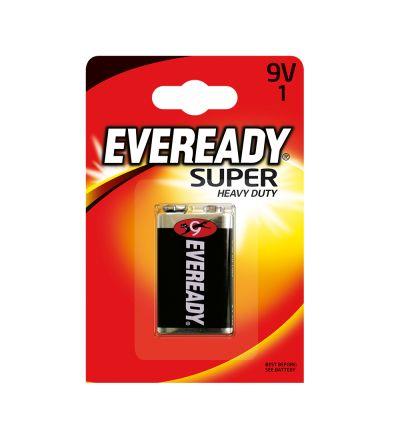 Մարտկոց Էվերեդի, սուպեր ուժեղ հզորություն, 9V, 1 հատ