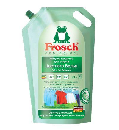 Լվացքի հեղուկ Ֆռոշ, գունավոր հագուստի համար, 2.0լ