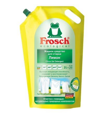 Լվացքի հեղուկ միջոց Ֆռոշ, կիտրոն, 2լ