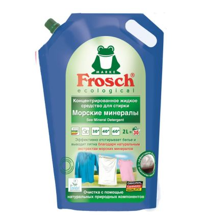 Խտացված լվացքի հեղուկ միջոց Ֆռոշ, ծովային միներալներ, 2.0լ