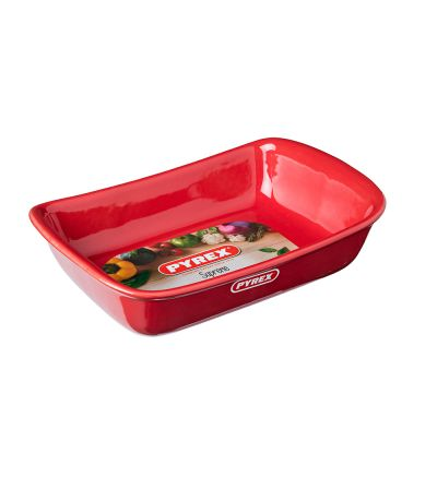 Կարմիր կերամիկական ձևաման Փայրեքս, 30սմ-1,5լ