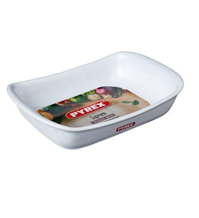 Սպիտակ կերամիկական ձևաման Փայրեքս, 33 սմ